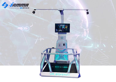 Standing Virtual Reality Platform Single Player Interactive Game Machine