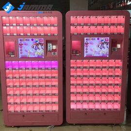Hardware Acrylic Gift Vending Machine Coin Operated With LED Light 1.01x 0.6 X 2.51 M