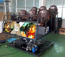 Interactive 7D Cinema Simulator 6 DOF With Competitive Gun Shooting Game