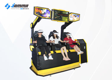 VR Park Motion Cinema 9D Virtual Reality Simulator With Small Touch Screen Kiosk