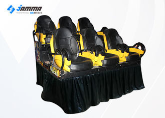 6 Seats Motion Chair 7D Cinema Machine With Special Effects 2 Projector