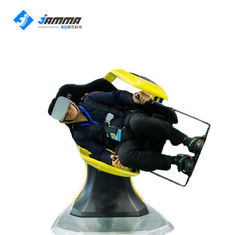 360 Rotation Virtual Reality Simulator 9D VR Cinema Roller Coaster Movies