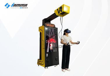 Self-Service Arcade 9D Virtual Reality Simulator VR Interactive Game Coin System With HTC Cosmos Glasses
