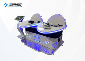 Two Player Virtual Reality Machine With Touch Screen Kiosk / Amusement DD VR Cinema