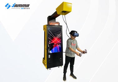 55 Inch Display Interactive VR Arcade Machine With HTC Cosmos Glasses