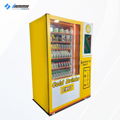 1500W Milk Drink Vending Machine 21.5 Inch Touch Screen