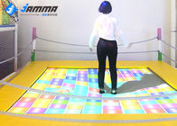 Dynamic Trampoline Interactive Projector Games with Camera Computer Integrated Host