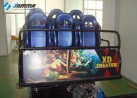 Mobile Amusement 5D Moving Theater , Hydraulic System 5D Cinema Equipment