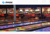 Game Center Bowling Interactive Projector Games For Double Players