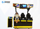 Easy Maintenance Virtual Reality Cinema 3 Seats 9D VR Motion Chair