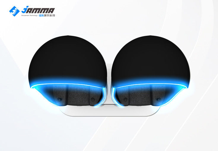 "Egg Shaped 9D Virtual Reality Simulator 2 Seats with Special Effects 42 "" Monitor"